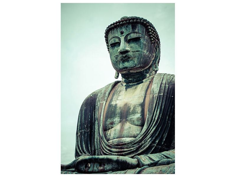 Poster Meditierender Buddha