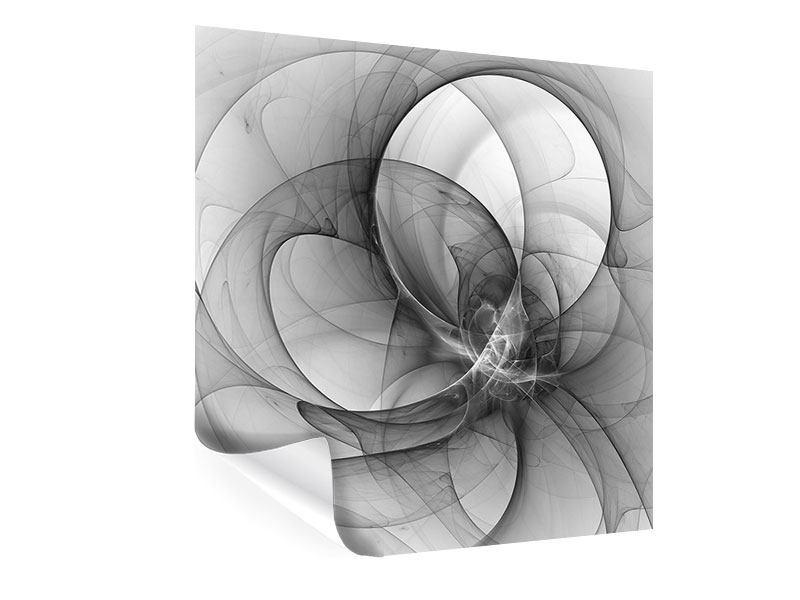 Poster Abstrakte Kreisende Kreise