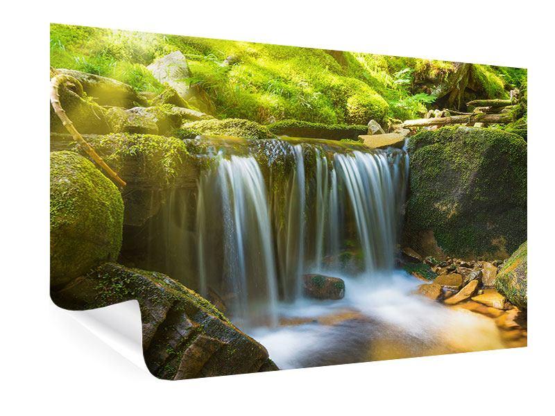 Poster Schönheit des fallenden Wassers