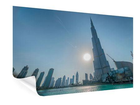 Poster Wolkenkratzer-Architektur Dubai
