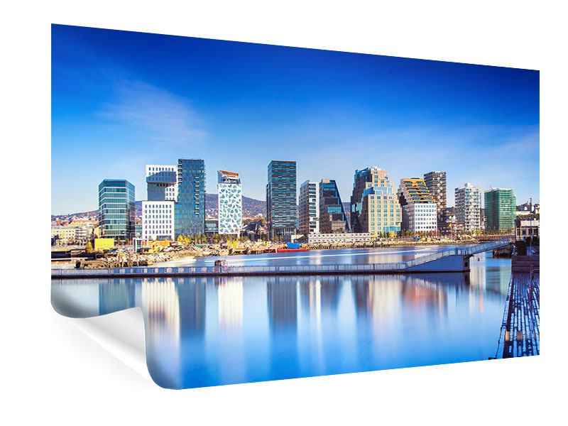 Poster Skyline Oslo