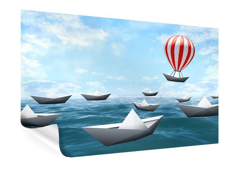 Poster Schiffchen