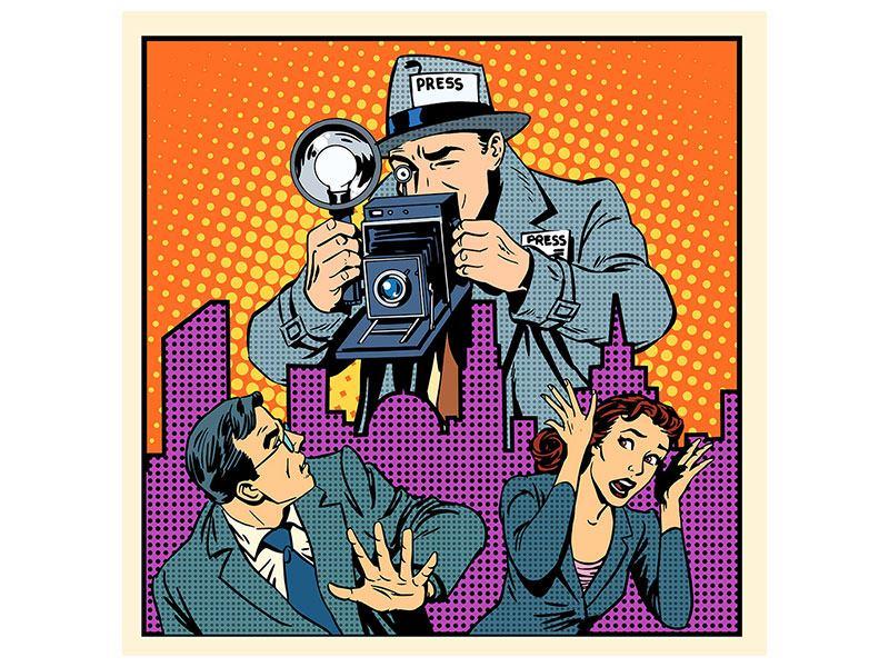 Poster Pop Art Paparazzi