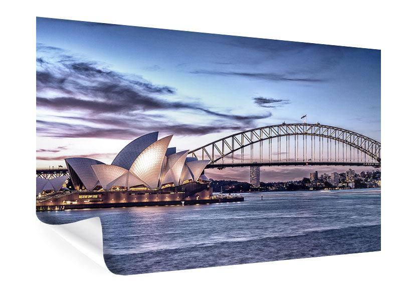 Poster Skyline Sydney Opera House
