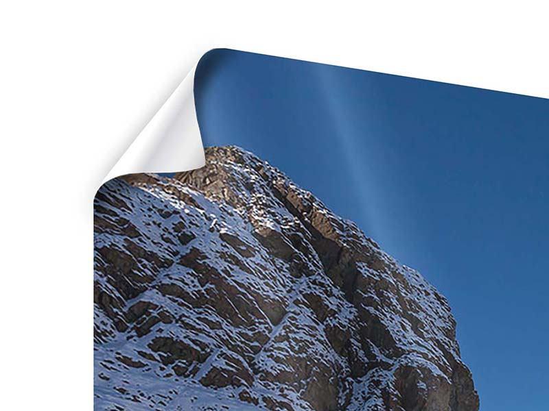 Poster Der Riffelsee am Matterhorn