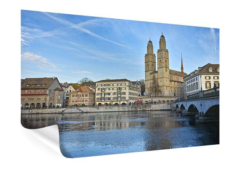 Poster Die Altstadt von Zürich