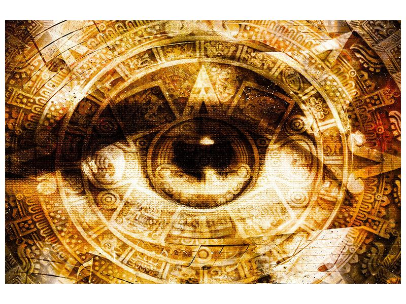 Poster Fraktales Auge