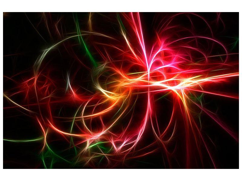 Poster Fraktales Lichtspektakel