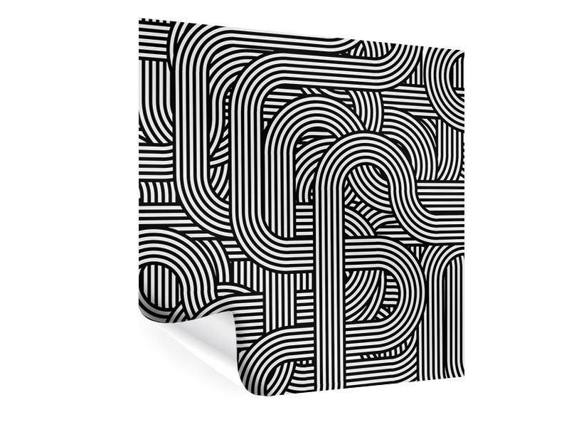 Poster 3D Black & White