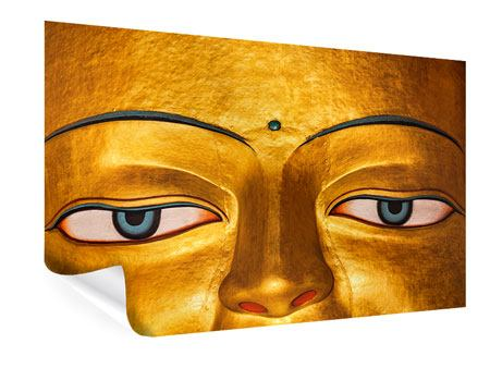 Poster Die Augen eines Buddhas