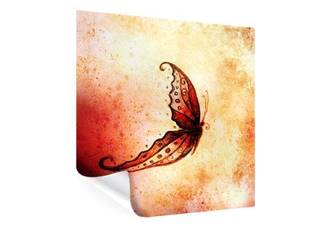 Poster Butterfly Gemälde