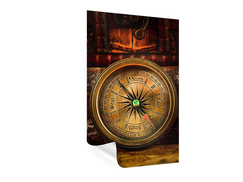 Poster Antiker Kompass