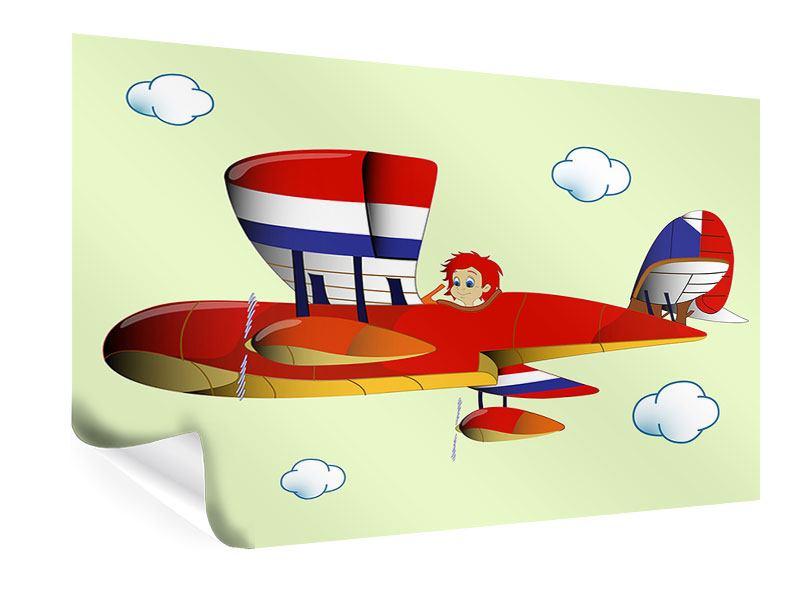 Poster Der fliegende Junge