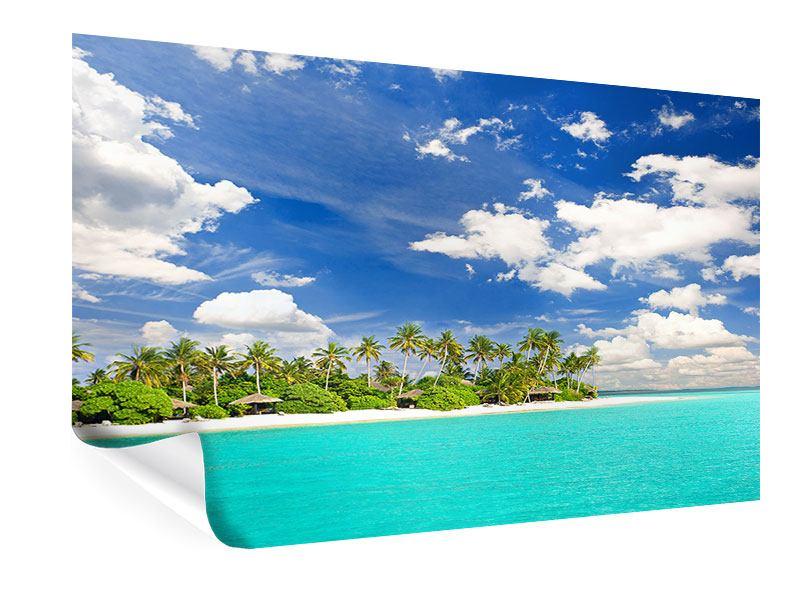 Poster Meine Insel