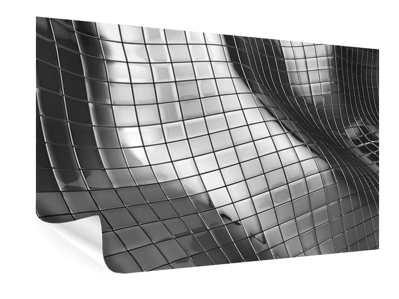 Poster Abstrakter Stahl