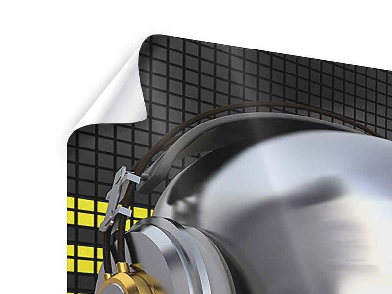 Poster Futuristischer DJ