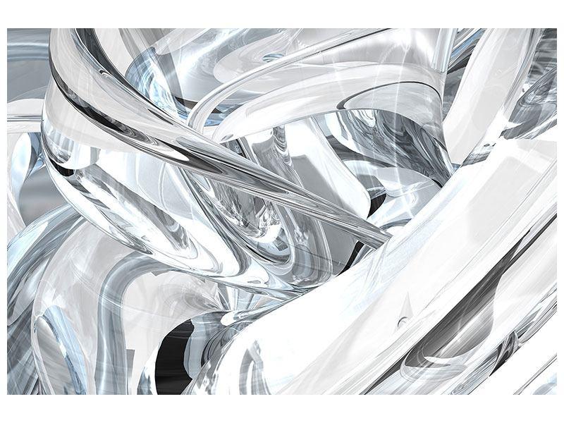 Poster Abstrakte Glasbahnen