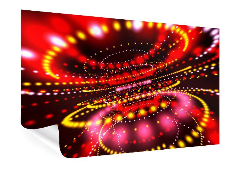 Poster Abstraktes Lichtspiel