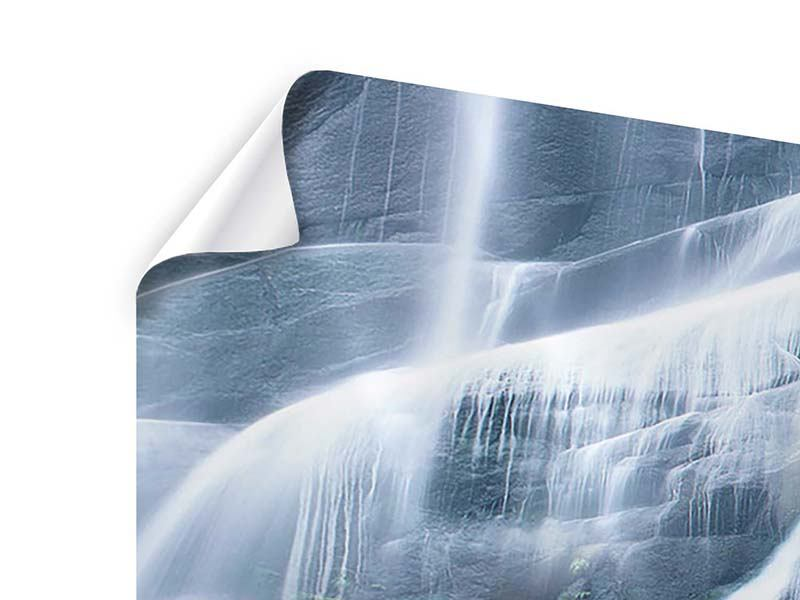 Poster Grossartiger Wasserfall