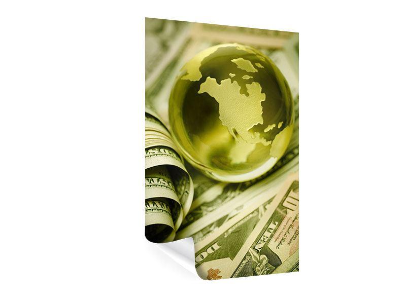 Poster Geld regiert die Welt