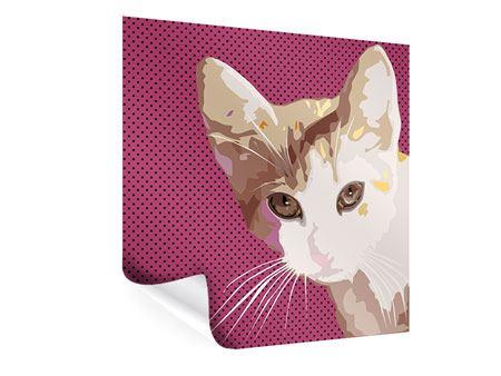 Poster Pop Art Katze