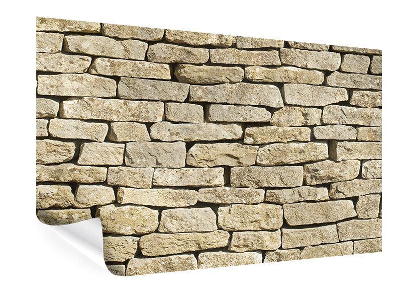 Poster Alte Mauer