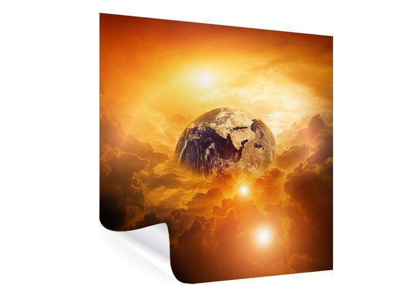 Poster Mystischer Planet Erde