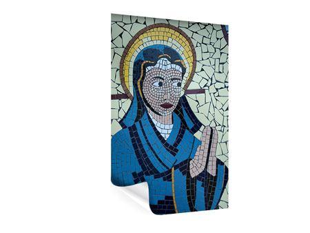 Poster Jungfrau Maria Mosaik