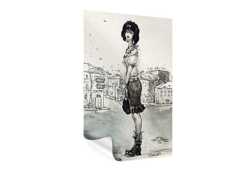 Poster Fashion Girl