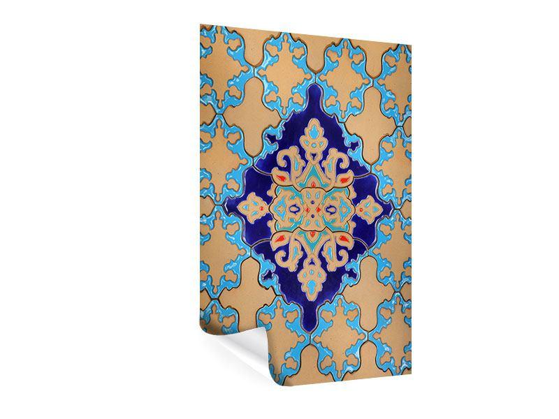Poster Orientalisches Mosaik