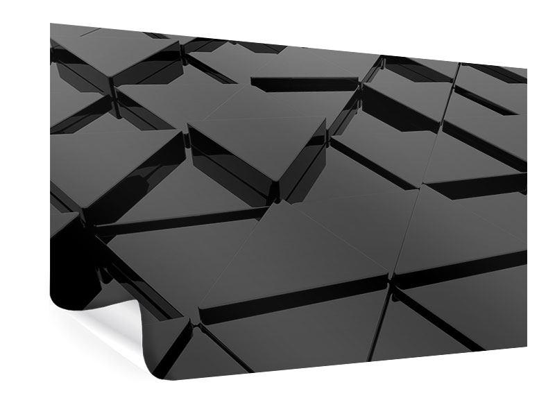 Poster 3D-Dreiecksflächen