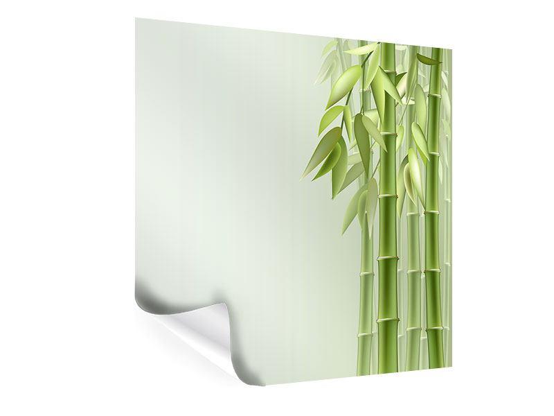 Poster Bambuswall