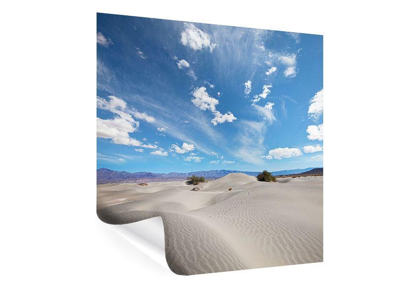 Poster Wüstenlandschaft