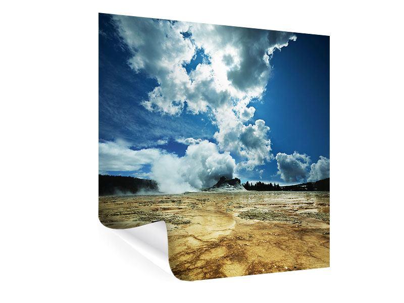 Poster Vulkanlandschaft