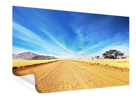 Poster Eine Landschaft in Afrika