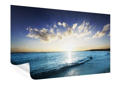 Poster Das Meer im Sonnenaufgang