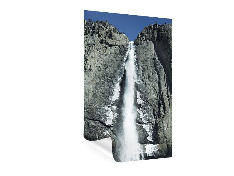 Poster Wasserfall Yosemite