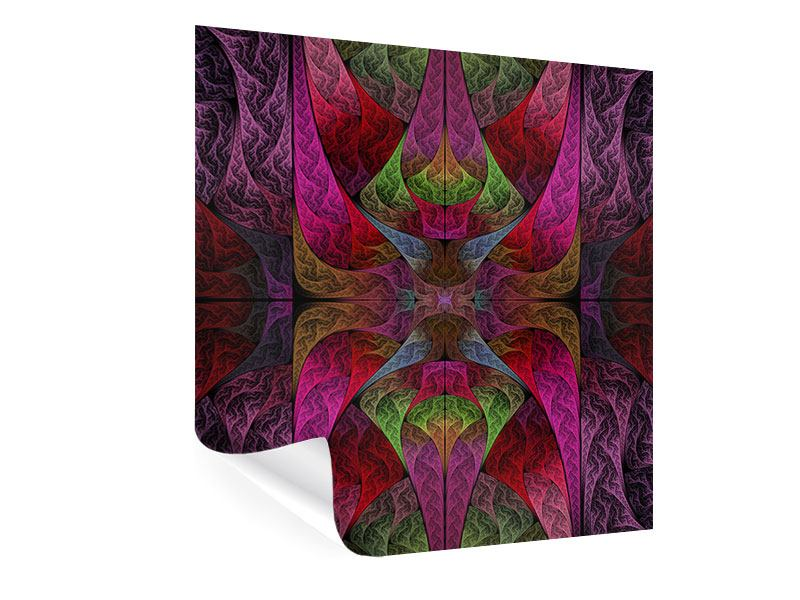 Poster Fraktales Muster