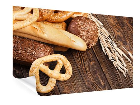 Poster Brot und Bretzel