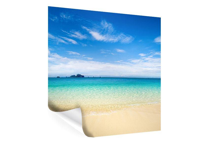 Poster Blaue Lagune