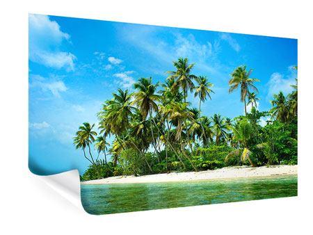 Poster Reif für die Ferieninsel