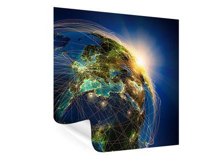 Poster Der Planet Erde