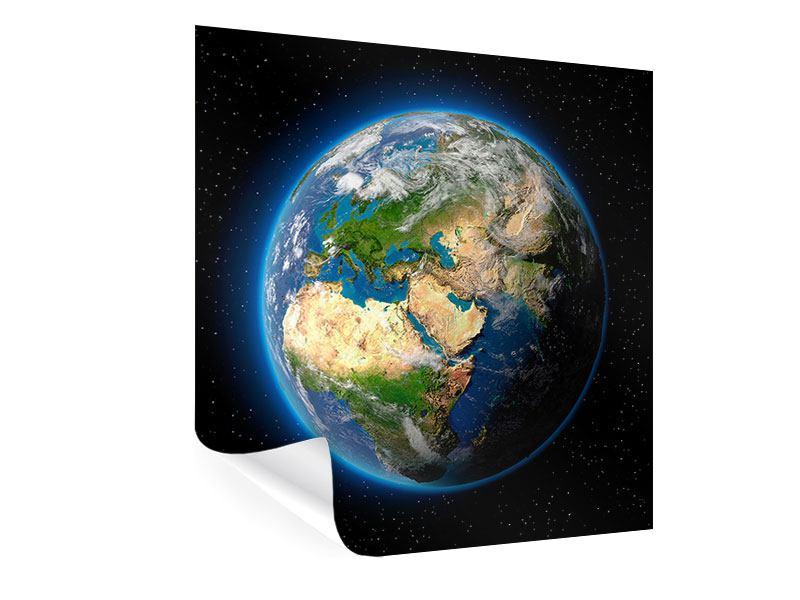 Poster Die Erde als Planet