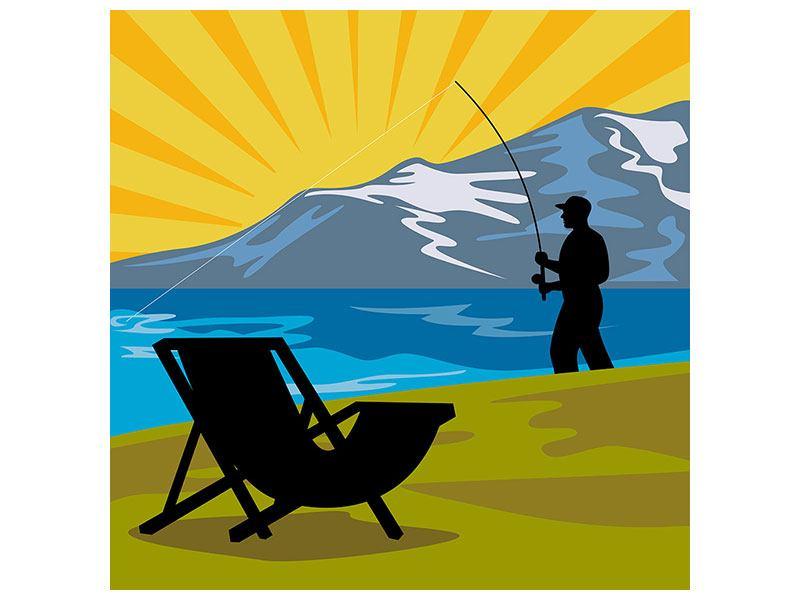 Poster Der Angler