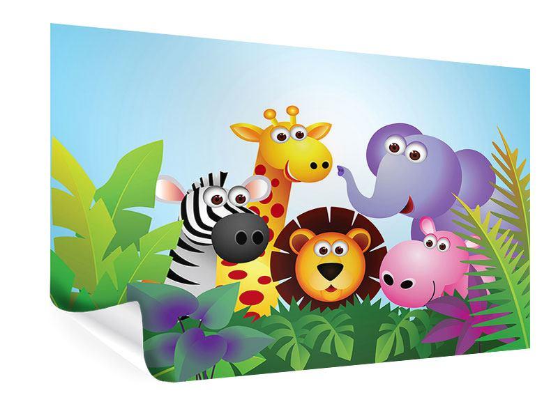 Poster Dschungel
