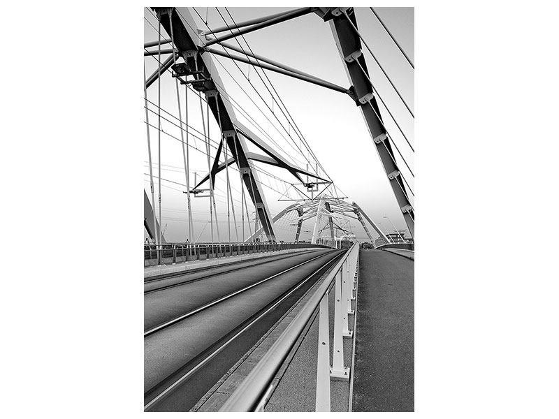 Poster Auf der Brücke