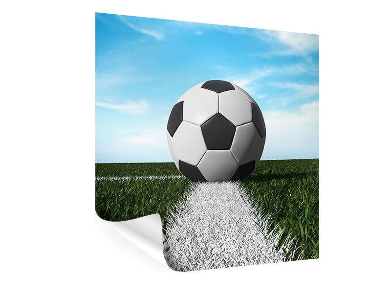 Poster Der Fussball