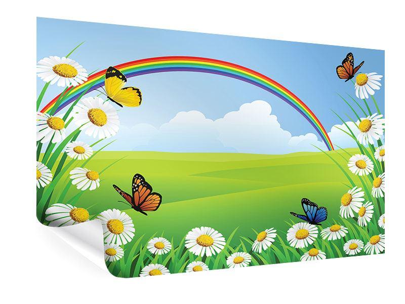Poster Der bunte Regenbogen