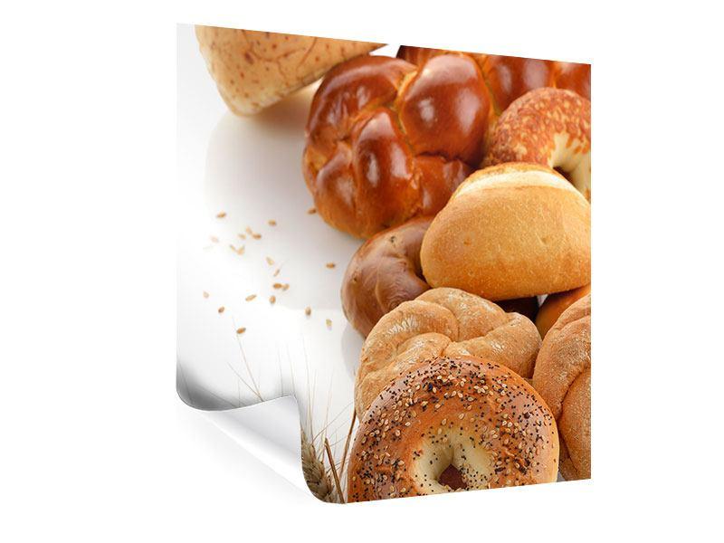 Poster Frühstücksbrötchen