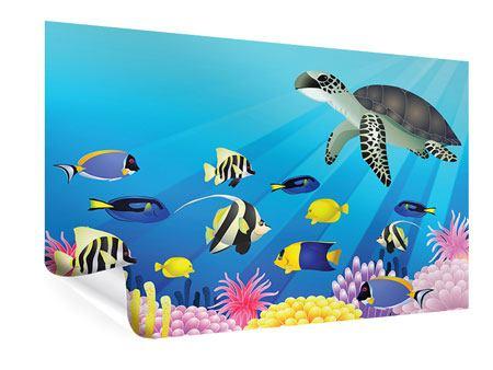 Poster Kinder Unterwasserwelt
